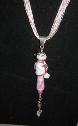 Japanese Doll Pendants w/10 Silver Strand Necklace in Ruidoso, New Mexico