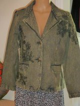 Coldwater Creek Distress vintage Look Jacket P12 in Fort Bragg, North Carolina