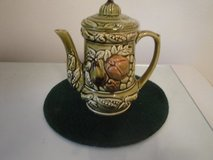 old porcelain fruited vintage teapot/Japan in Conroe, Texas