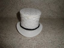 milk glass derby hat in Conroe, Texas