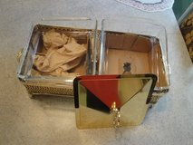 two bin goldplated food server/warmer in Spring, Texas