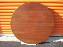 """Solid Oak 42"""" Round Table Top in Cherry Point, North Carolina"""